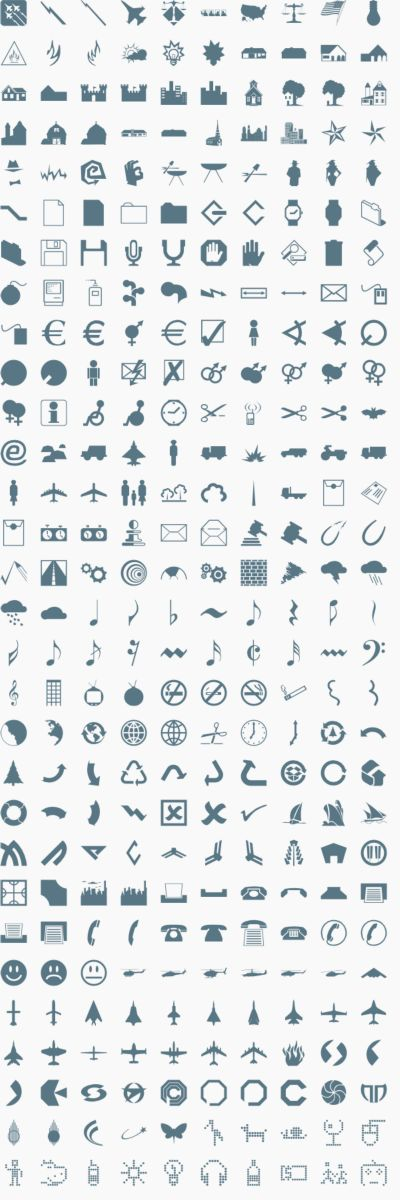 Vector Icons & Signs 4