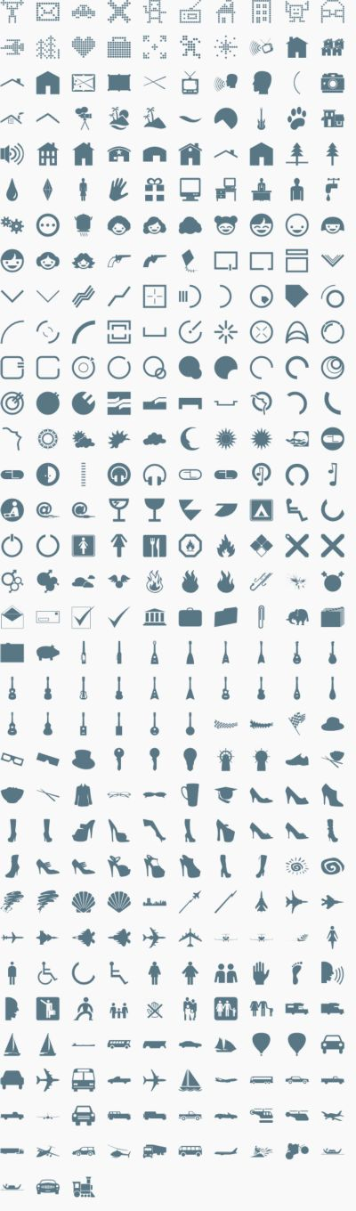 Vector Icons & Signs 5