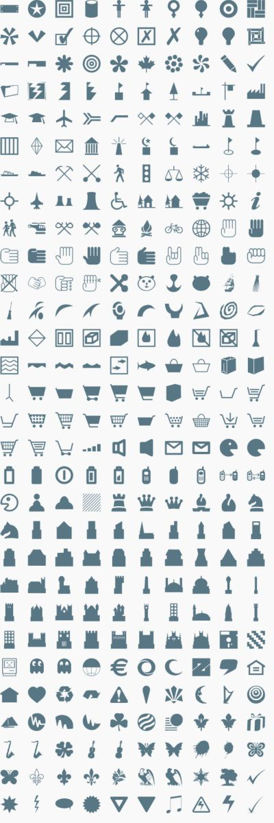 Vector Icons & Signs 1